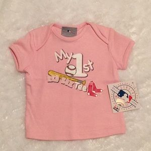 ⚾️NWT Baby's first Red Sox ⚾️ tee